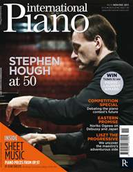 International Piano issue International Piano Nov-Dec 2011