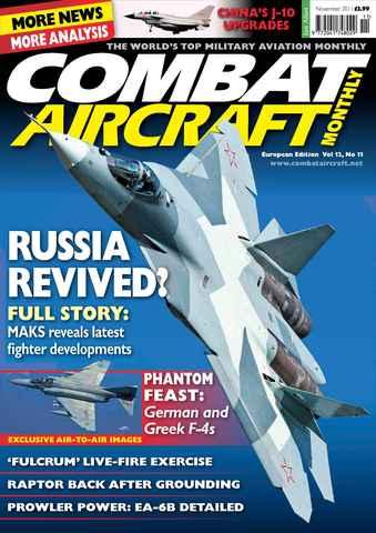 Combat Aircraft issue European Edition - Vol 12 No 11