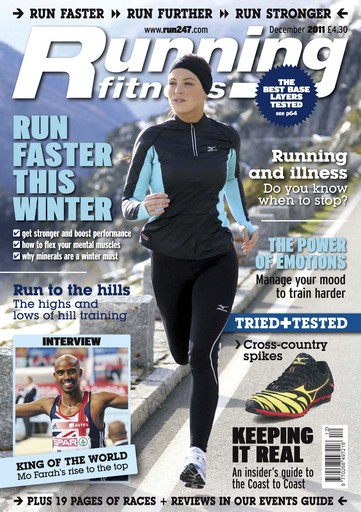 Running Fitness issue Get Stronger And Faster Dec 2011