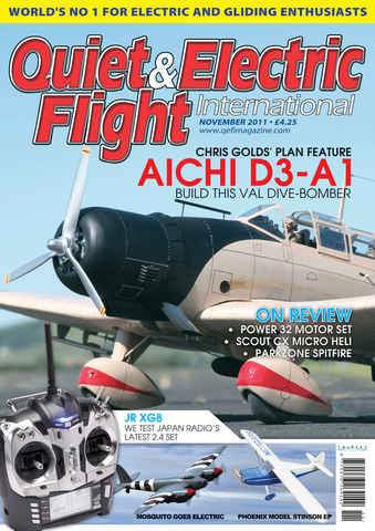 Quiet & Electric Flight Inter issue November 2011