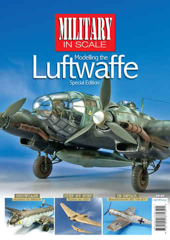 MIS Modelling the Luftwaffe issue Military In Scale Special
