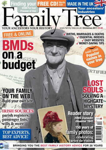 Family Tree issue December 2011