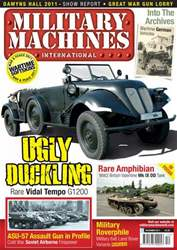 Military Machines International issue December 2011