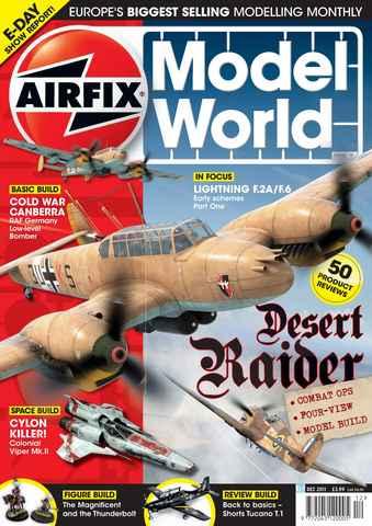 Airfix Model World issue December 2011