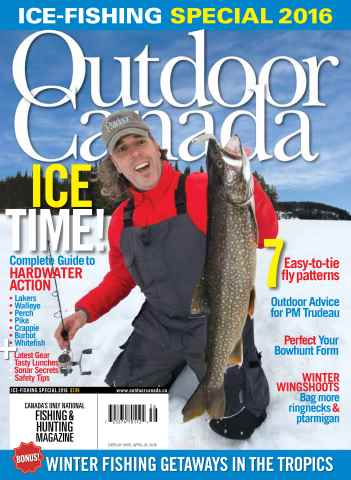 Outdoor Canada issue Ice Fish Special 2016