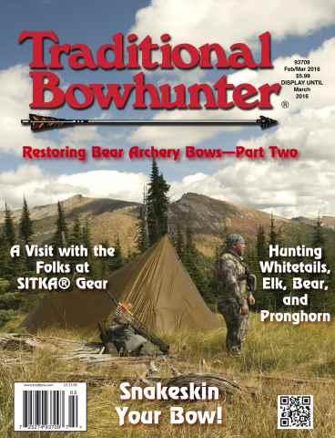 Traditional Bowhunter Magazine issue Feb/Mar 2016