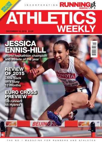 Athletics Weekly issue 10 December 2015