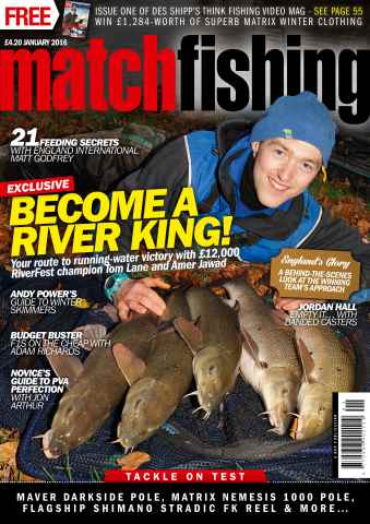 Match Fishing issue January 2016