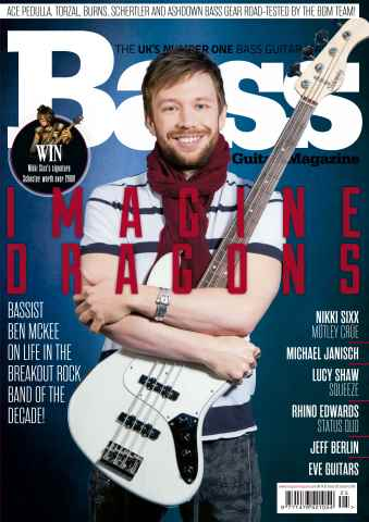 Bass Guitar issue January 2016