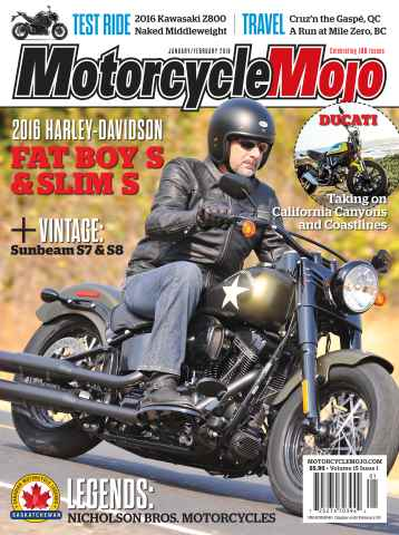 Motorcycle Mojo issue Jan-Feb 2016