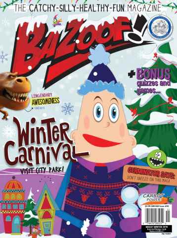 Zamoof! issue Wacky Winter
