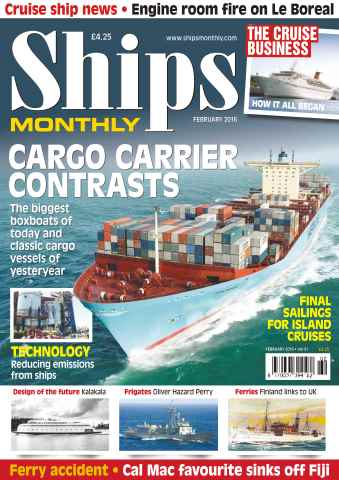 Ships Monthly issue No. 614 Cargo Carrier Contrasts