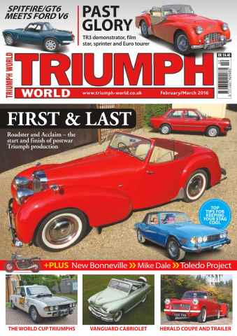 Triumph World issue No. 158 First & Last