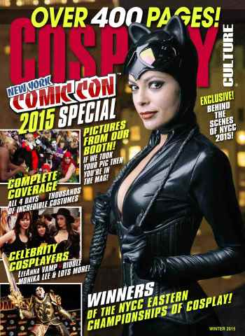 Cosplay Culture issue New York Comiccon 2015 Special