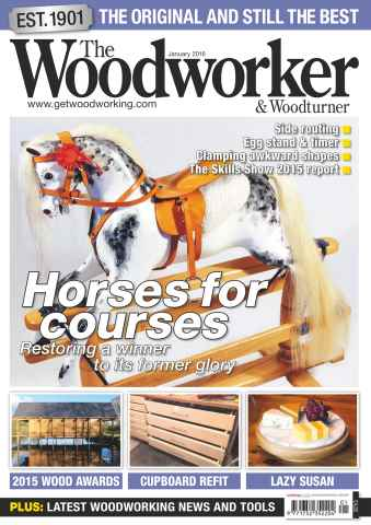 The Woodworker Magazine issue January 2016
