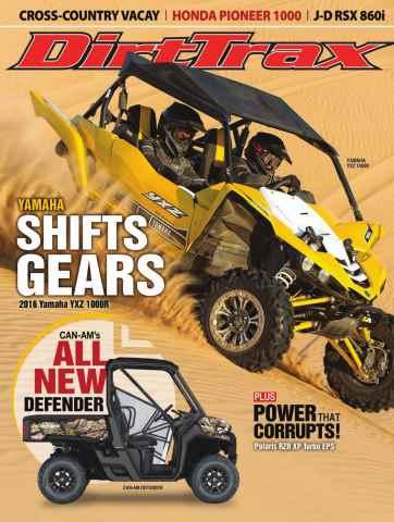 Dirt Trax Magazine issue Volume 17 Number 2