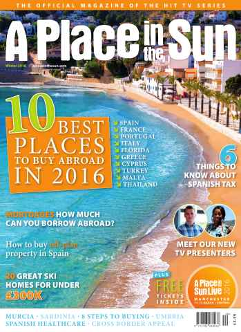 A Place in the Sun Magazine issue A Place in the Sun Winter 2015