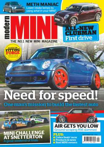 Modern Mini issue No. 76 Need for Speed!