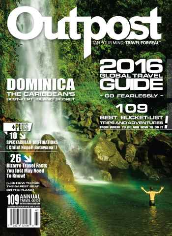 Outpost - Adventure Travel Magazine issue Annual Guide 2016