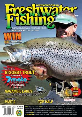 Freshwater Fishing Australia issue Jan-Feb Issue 136