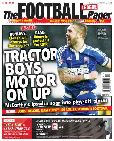 The Football League Paper issue 13th December 2015