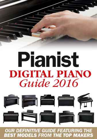 Pianist issue Digital Piano Guide 2016