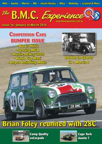 BMC Experience issue Jan to March 2016