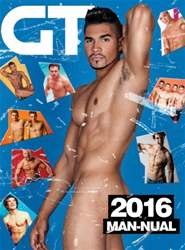Gay Times issue GT Man-ual 2016