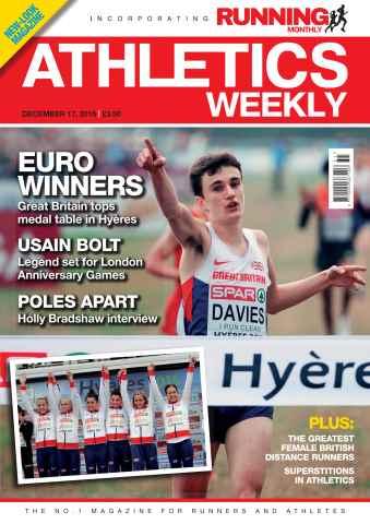Athletics Weekly issue 17 December 2015