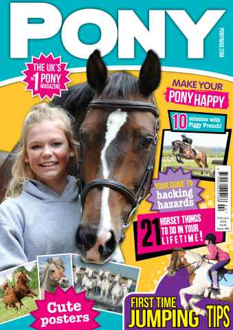 Pony Magazine issue PONY Magazine – February 2016