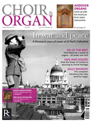 Choir & Organ issue Jan - Feb 2016