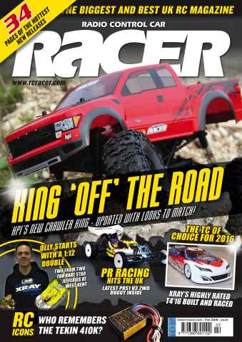 Radio Control Car Racer issue Feb 16