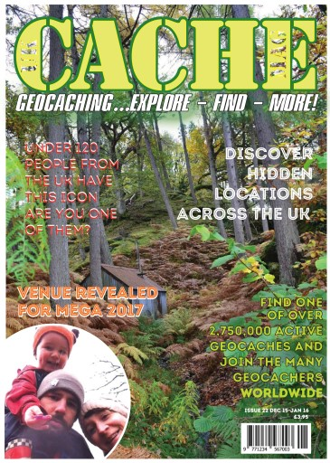 UK Cache Mag issue Issue 22
