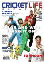 Cricket Life issue Issue #3 Summer 2016