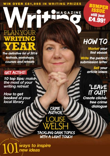 Writing Magazine issue February 2016