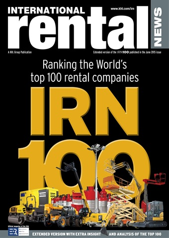 International Rental News issue IRN 100 Special Ext. Version 2015