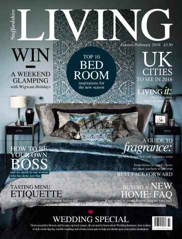 Staffordshire Living issue January/February 16