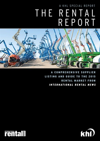 International Rental News issue The Rental Report 2015