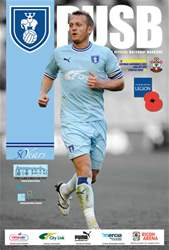 CCFC Official Programmes issue 09 V SOUTHAMPTON (11-12)