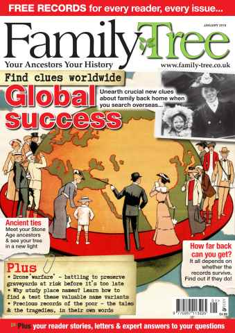 Family Tree issue Family Tree January 2016