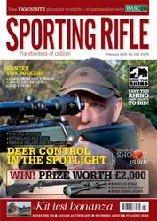 Sporting Rifle issue February 2016