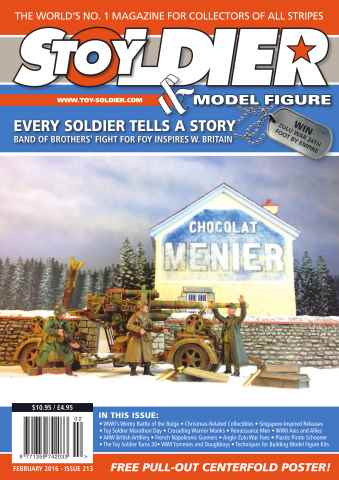 Toy Soldier & Model Figure issue Issue 213