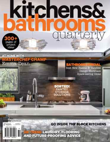 Kitchens & Bathrooms Quarterly issue Issue#22.4 Dec 2015