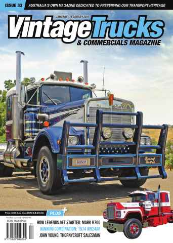 Vintage Trucks & Commercials issue January February
