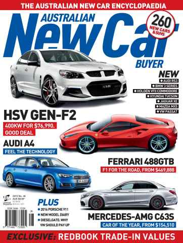 Australian New Car Buyer issue Dec Issue#46 2015