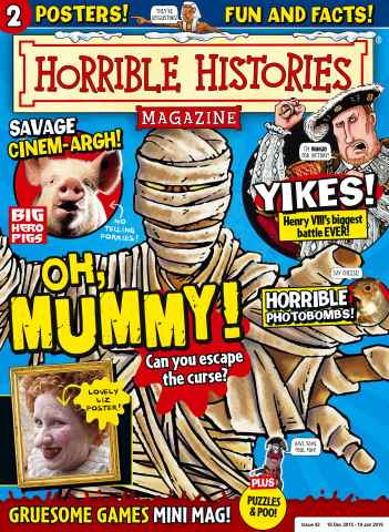 Horrible Histories issue  Issue 42