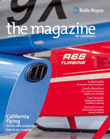 Rolls-Royce Magazine issue December 2015