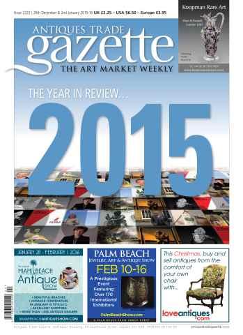 Antiques Trade Gazette issue 2222