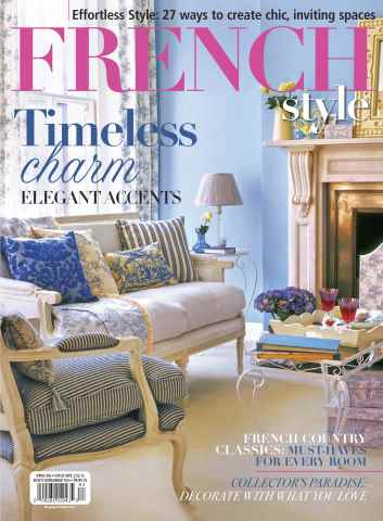 Flea Market Décor issue French Style Spring 2016