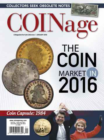 COINage issue January 2016